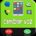 cambiar voz : llamada&videos&audios&app icon