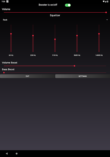 Speaker Booster with Bass Booster and Equalizer 3.1 screenshots 14