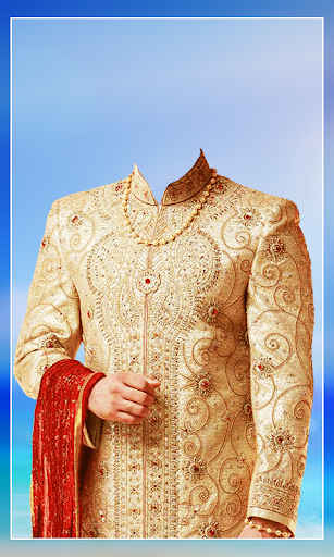 Men Salwar Photo Suit screenshot