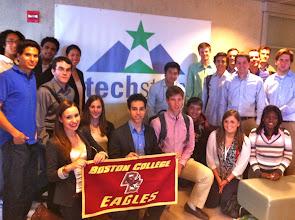 Photo: BC at TechStars Boston
