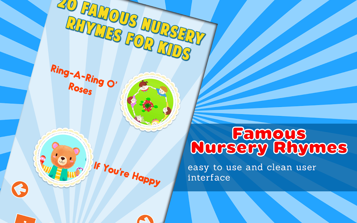 Kids English Poems 2 - Famous Nursery Rhymes – (Android Apps) — AppAgg