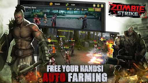 Zombie Strike : Last War of Idle Battle (AFK RPG) android2mod screenshots 5