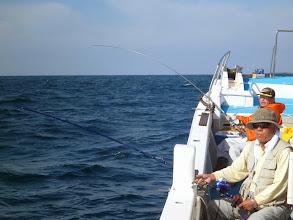 Photo: 「船頭!好調よー!」・・・よかった、よかった! 思いっきり楽しんでねー!