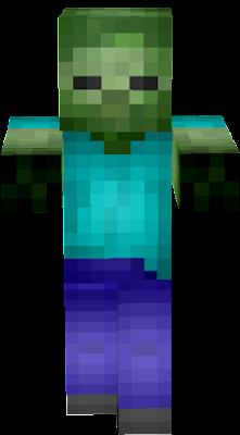 Hd Zombie Nova Skin - Gomme skin fur minecraft pe