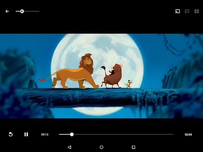Disney Movies Anywhere Screenshot