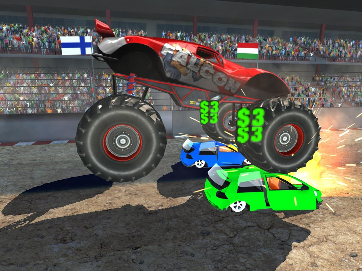 Monster Crush - Monster Jam Show- screenshot