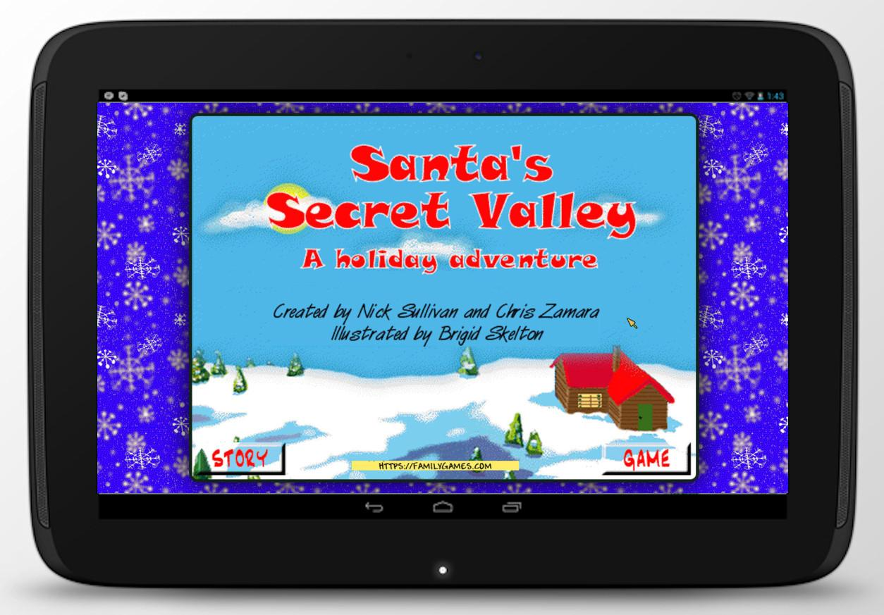 Santa's Secret Valley- screenshot