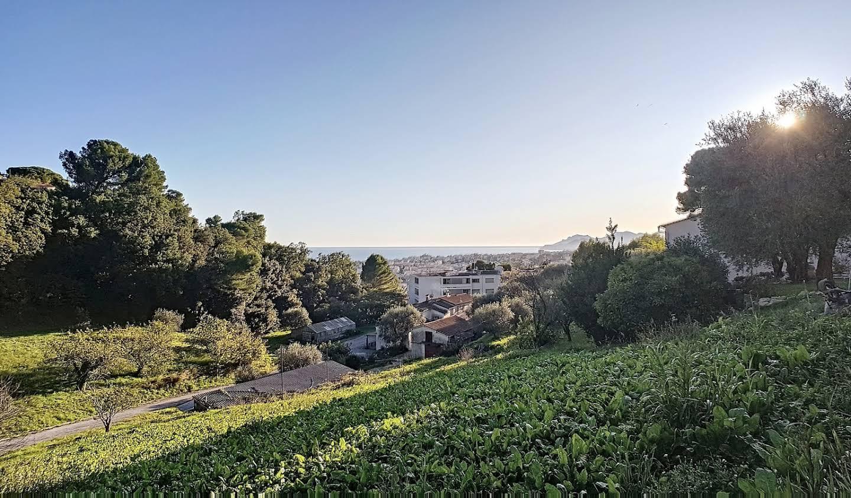 Terrain avec vue panoramique Le Cannet