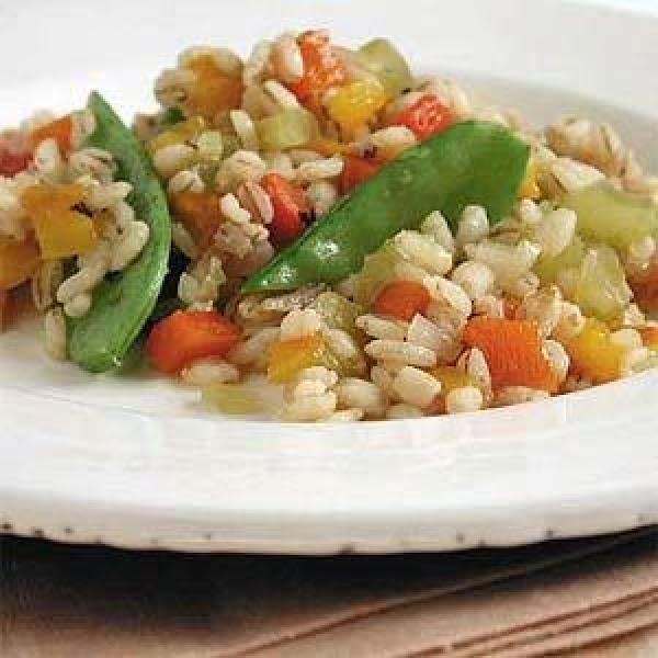 Mushroom And Barley Pilaf Recipe