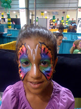 Photo: Colorful Face Painting by Paola Gallardo form http://www.BestPartyPlanner.net