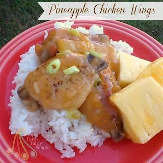 Pineapple Chicken Wings.