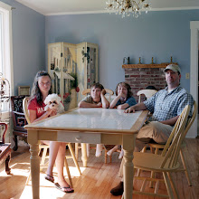 Photo: title: Jay & Dawson French, Alex Welch & Thomas Lailer, Damariscotta, Maine date: 2011 relationship: friends, met on FB via Jed French years known: 0-5