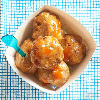 Sweet-Sour Meatballs.
