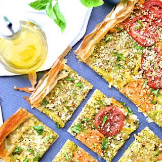 Heirloom Tomato & Goat Cheese Tart