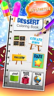 Dessert Coloring Book - náhled
