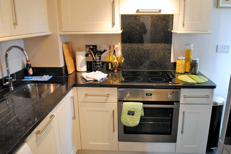 Fully equipped kitchen at Elizabeth Court