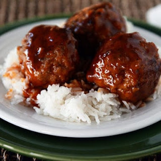 Sweet and Sour Meatballs.