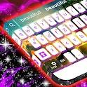 Purple Flames Keyboard icon
