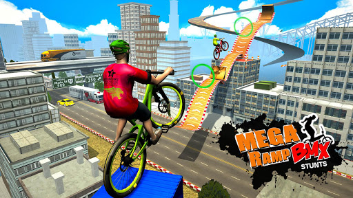 Mega Ramp BMX Bicycle Racing : Tricky Stunts 2020 filehippodl screenshot 10