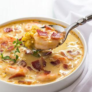 Bacon, Shrimp and Corn Chowder Recipe