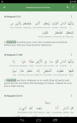 Al Quran (Tafsir & by Word) for PC
