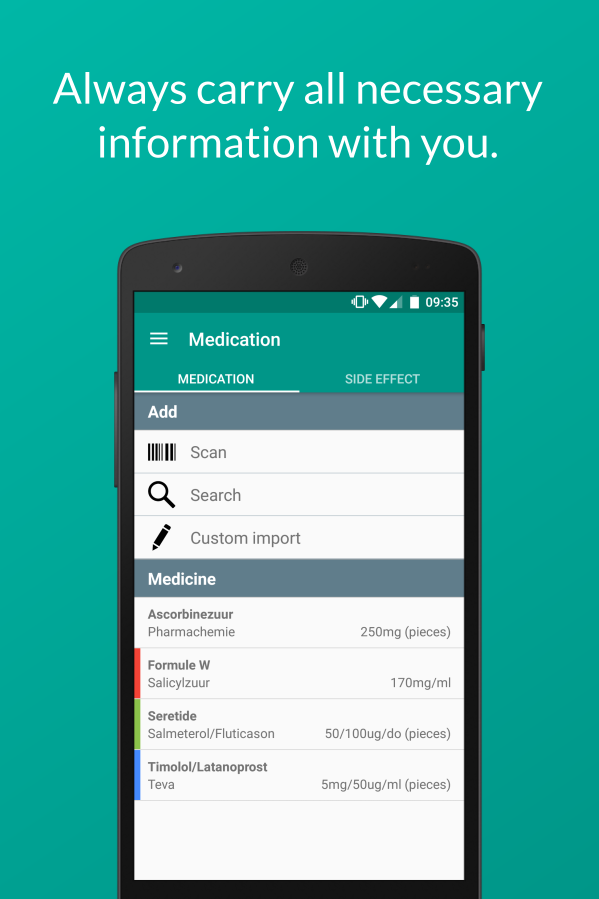 MedApp Medication- screenshot