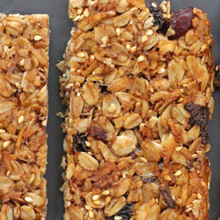 Grown-Up Homemade Granola Bars .
