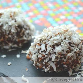 Paleo Snowball Cookies.