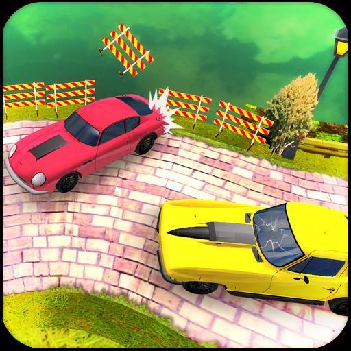 Crazy Wheels Car Racing 3D - Fast Racing Games