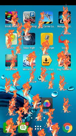Fire Screen Prank 1.2 screenshot 768122