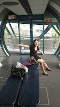 Photo: Singapore Flyer - We had the whole pod to ourselves!