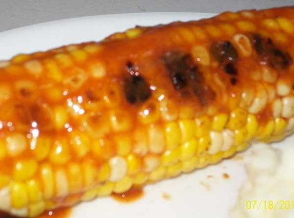 Naked Corn On The Cob…not! Recipe