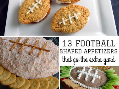 13 Football Shaped Appetizers That Go the Extra Yard