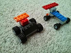 Photo: Clark's Lego Race Cars