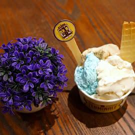 Gelato by Mulawardi Sutanto - Food & Drink Candy & Dessert ( banget, dessert, gelato, travel, food, bandung, nikmat )