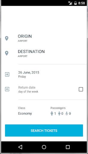 Worldwide Air Tickets Finder