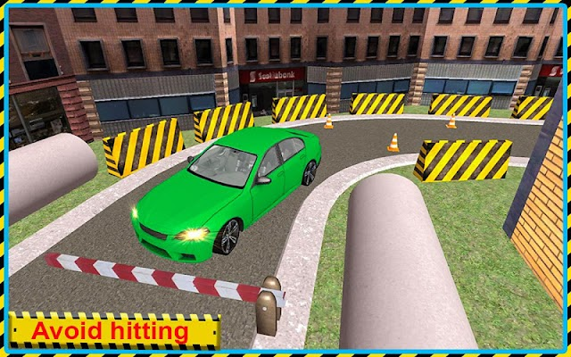 Car Park City Vehicles Driving - screenshot