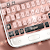 Pink Gold Keyboard Theme file APK for Gaming PC/PS3/PS4 Smart TV