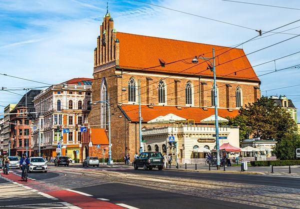 8 - Kościół Bożego Ciała, wzmiankowany po raz pierwszy w 1351 roku...