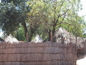 Photo: Fence and Thatched roof