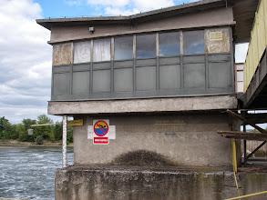 Photo: 850 cm.- poziom wody w 1997 r.