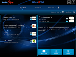 Screenshot of Tata Sky Mobile – For Tablets