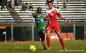 Photo: Alfred Sankoh  [Leone Stars v Seychelles, Freetown, 19 July 2014 (Pic: Darren McKinstry)]