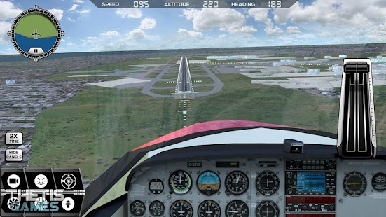 Flight Simulator FlyWings 2017 [Mod Money] v5.0.3 + Obb Data Full