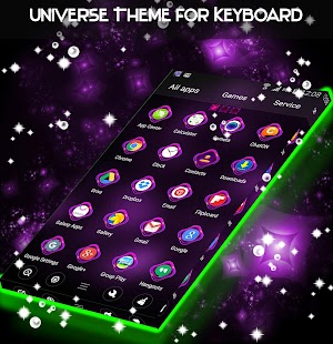 Universe Theme for Keyboard - náhled