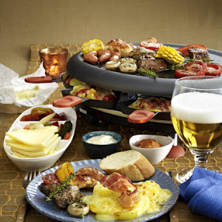 Raclette Hors d'Oeuvres.