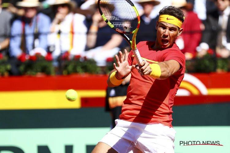 Rafael Nadal loodst zijn land naar de finale
