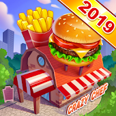 Crazy Chef: Craze Fast Restaurant Cooking Games
