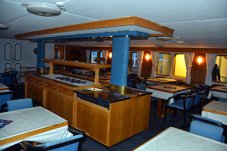 Photo: The museum includes the MS Finnmarken circa 1912, which has been mounted on land