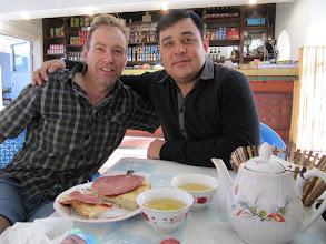 Photo: Day 161 - Breakfast at Turkmenabat Station #2